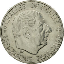 [#462539] France, Charles de Gaulle, Franc, 1988, Paris, SPL, Nickel, KM:963
