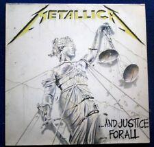 METALLICA And Justice For All 2 x VINYL LP RARE 1988 ORIGINAL 1ST PRESS 836062-1
