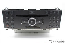 ORIGINALE Mercedes w204 Comand Head Unit High ECE single navigazione a2049062800