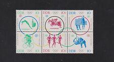 Postfrische Briefmarken der DDR (1960-1970) mit Olympische Spiele-Motiv