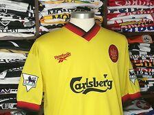 LIVERPOOL FC away 1997/98 shirt RIEDLE #33 - Dortmund-Germany-Jersey-Trikot (M)