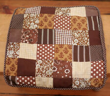 """Vintage Handmade Quilt Square Patchwork Day Bed Couch Pillow Sham Cover 13"""""""