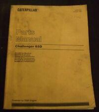 CAT CATERPILLAR CHALLENGER 65D TRACTOR PARTS BOOK MANUAL S/N 2ZJ1965-UP