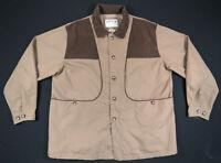 NWOT Orvis Hunting Fishing Heavy Canvas Tan Chore Barn Field Coat Jacket 2XL