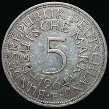 1964 F | Germany 5 Mark | Silver | Coins | KM Coins