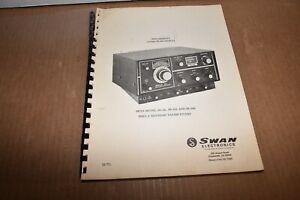 Swan SS-15 SS-100 SS-200 Sideband Transceiver Radio MANUAL 1973
