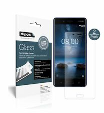 2x Nokia 8 Screen Protector matte Flexible Glass 9H dipos
