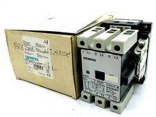 NEW SIEMENS 3TF4711-0AK6 CONTACTOR 3-POLE AC-3 30KW 3TF47 3TF47110AK6