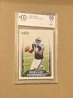 2006 Score #340 Vince Young Tennessee Titans Rookie Card BGS BCCG 10