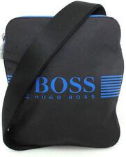 BOSS Green Herren Pixel_s Zip Env 10180620 01 Schultertasche Blau Schwarz NEU