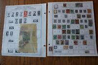 M65 Lot of Italy & Italian Colonies Stamps on 12 Minkus binder Pages
