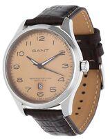 Gant Herren Armbanduhr Montauk dunkelbraun W71302