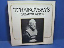 Vinyl Tchaikovsky's Greatest Works 7 Disc Box Set LP 33rpm Classical