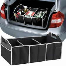 Car Trunk Storage Box Extra Large Collapsible Organizer With 3 Compartments