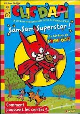 "CD-Rom PC/MAC Clic d'api ""Sam Sam Superstar"" Comment poussent les cerises? NEUF"