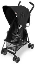Maclaren Baby Mark II Compact Lightweight Umbrella Fold Reclining Stroller Black