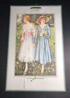 1921 Calendar 2 Pretty Flapper Girls Love Awakening Gay Art Seattle Wa Sample
