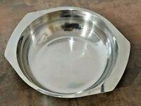 Schüssel aus Edelstahl, Schale aus Metall, Innendurchmesser: 16 cm, Höhe: 3,8 cm