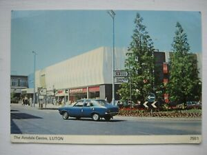 NICE OLD  POSTCARD--THE ARNDALE CENTRE,LUTON (WOOLWORTH SHOP)