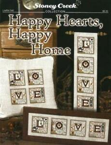 Happy Hearts, Happy Home by Stoney Creek cross stitch pattern