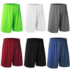 Men Shorts Basketball Running Football Training Gym Exercise Fitness Loose Pants