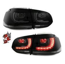 GTI R-LOOK LED RÜCKLEUCHTEN LINKS + RECHTS VW GOLF 6 08+ SMOKE SCHWARZ DEPO SET