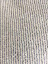 RALPH LAUREN Supima Cotton Oxford Stripe Queen Fitted Sheet EUC