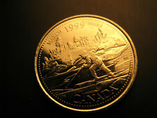 Canada 1999 Millennium March 25 Cent Mint Grade Coin