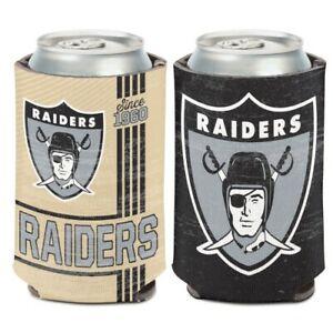 Oakland Raiders Can Cooler/Koozie for 12oz Beverage NFL