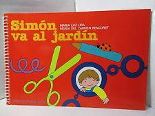 SIMON VA AL JARDIN CUADERNO PARA NINOS DE 4 Y 5 ANOS JARDIN INFANTIL TRANSICION