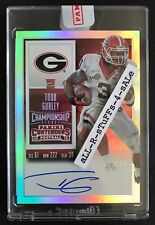 2015 Contenders TODD GURLEY Championship Ticket RC Auto RPS College /25 Ram #238