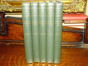 The Lives of The Fathers, Martyrs and Other Principle Saints 5 Vols Original Box