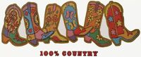 Country Cowboy ~ Cowgirl Boots Shirt, Western Wear, Small - 5X, novelty t-shirt