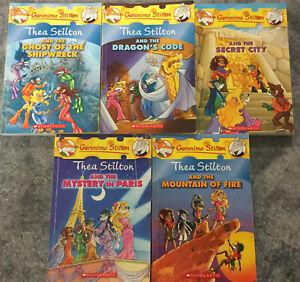 Thea Stilton - Lot Of 5 Books - Free Post