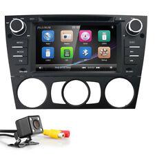 """CAM+ 7"""" Car Stereo CD DVD GPS Player Navigation BT Touch Radio E for BMW E90-E93"""