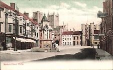 Wells. Market Place in Woodhams Series, Wells.