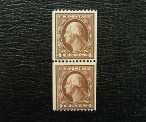 nystamps US Washington Stamp # 350 Mint OG H Pair $370   M14x1504