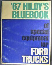 1967 Ford Truck Hildy's Blue Book Pickup Bronco Econoline Wrecker Dump Bus COE
