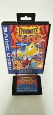 Sega Mega Drive juego Dynamite Headdy retrogame
