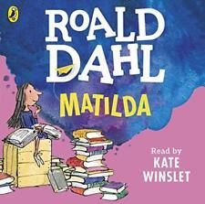 Matilda (Dahl audio) por Dahl, Roald Audio CD LIBRO 9780141370354 NUEVO