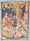 """Beautiful Antique / Vintage 29 by 40"""" Tapestry Crescent Moon Paper Lanterns"""