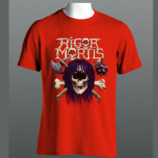 RIGOR MORTIS tee Gwar minsitry trash metal band merch S M L XL 2XL T-shirt