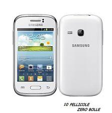 10 Pellicola per Samsung Galaxy Young S6310 Protettiva Pellicole SCHERMO LCD