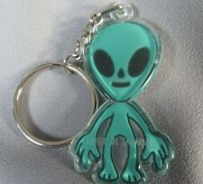 LITTLE GREEN MAN YOUR FRIENDLY  ALIEN DOUBLE SIDED   COLLECTIBLE  RING HOLDER