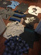 Boys Size Large Xl Lot Tees Hoodies Thermal Shirts Sweater Abercrombie Gap Hawk
