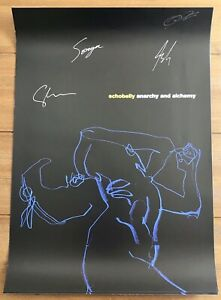 Echobelly - Anarchy & Alchemy  Poster Signed Autographed