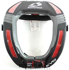 EVS RC4 Koroyd Race Collar, Adult - Black