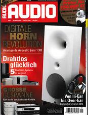 AUDIO 01/2016 ohne CD-~Kopfhörerberatung; Drahtlose Lautsprecher z.B. B&O Beolit