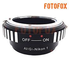 AIG-N1 For Nikon G AF-S AI F Lens to Nikon 1 J1 J2 J3 V1 V2 Camera Mount Adapter