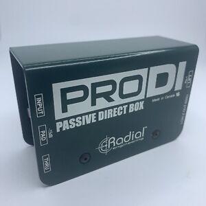 Radial Engineering ProDI Passive Direct Box Pro DI